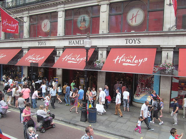 franchising hamleys